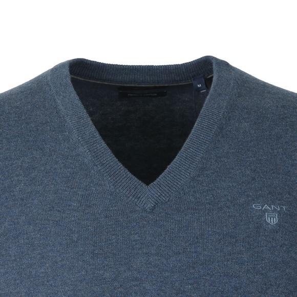 Gant Mens Blue Cotton Slipover main image