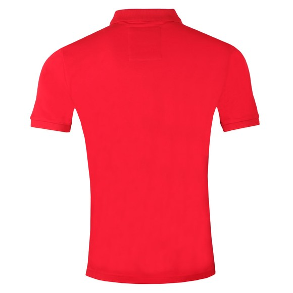 Superdry Mens Red Mercerised Lite City Polo main image