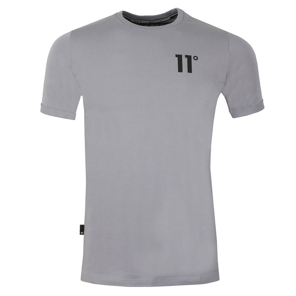 Eleven Degrees Mens Purple S/S Muscle Fit Tee main image