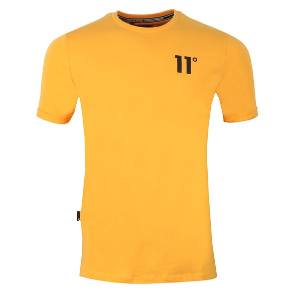 Eleven Degrees Mens Orange S/S Muscle Fit Tee main image