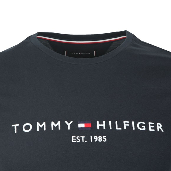 Tommy Hilfiger Mens Blue Core Tommy Logo T-Shirt main image
