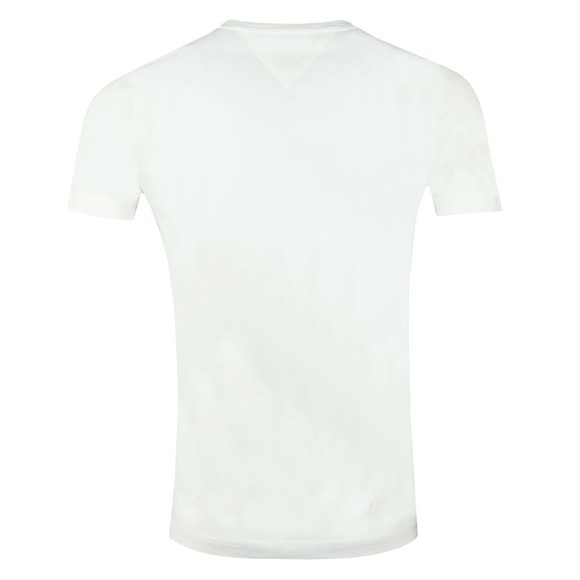 Tommy Hilfiger Mens Off-White Core Tommy Logo T-Shirt main image