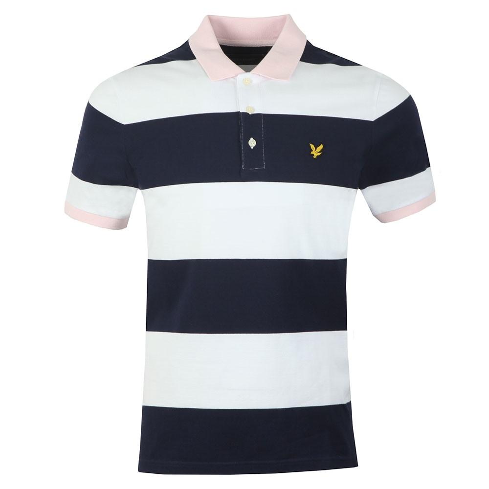 Wide Stripe Polo main image