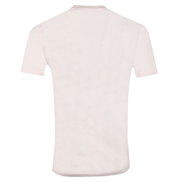 Lyle and Scott Mens Pink Basic Tee main image
