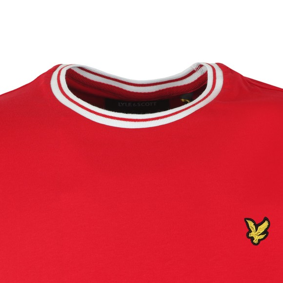 Lyle and Scott Mens Red Tipped T-Shirt main image