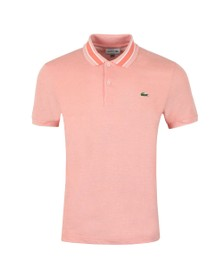 e98e4e0d31d Lacoste Mens Orange PH4251 Slim Fit Polo