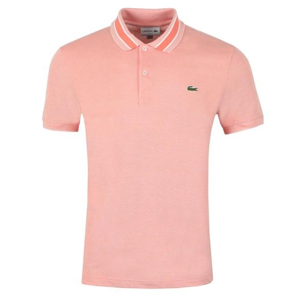 Lacoste Mens Orange PH4251 Slim Fit Polo