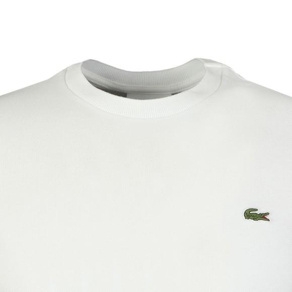 Lacoste Mens White TH4318 T-Shirt main image