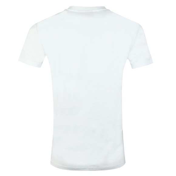 Gym King Mens White Brand Carrier Tee main image