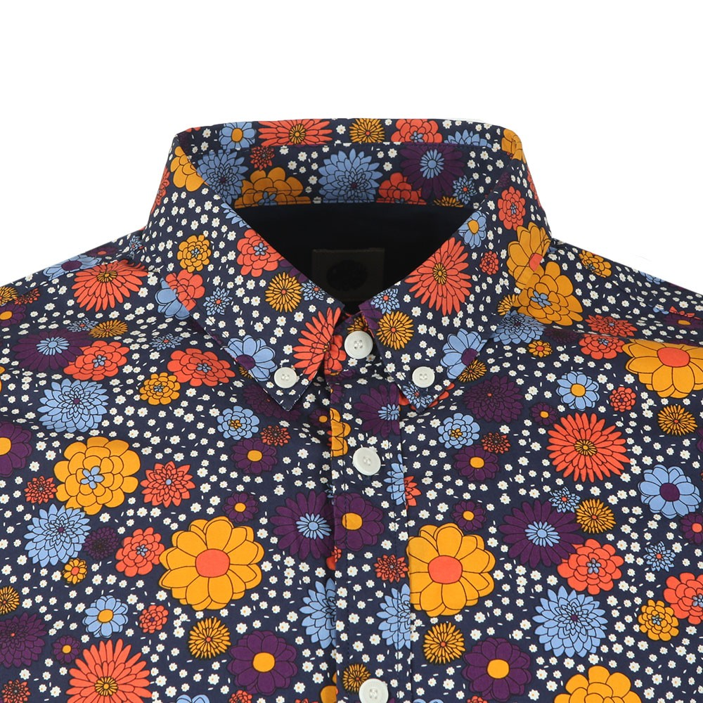 Slim Fit Floral Print Shirt main image