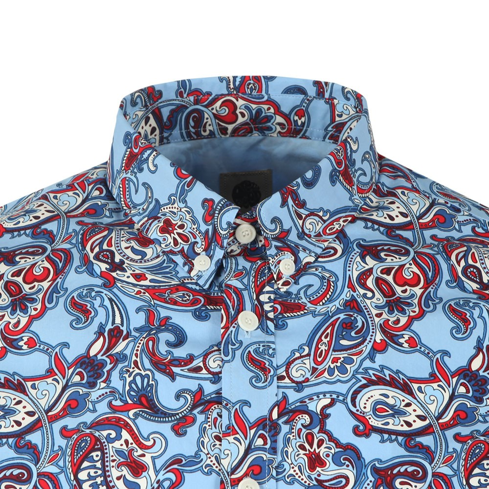 Slim Fit Paisley Print Shirt main image