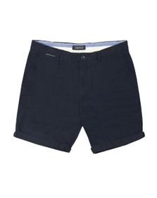 Scotch & Soda Mens Blue Classic Pima Cotton Chino Short