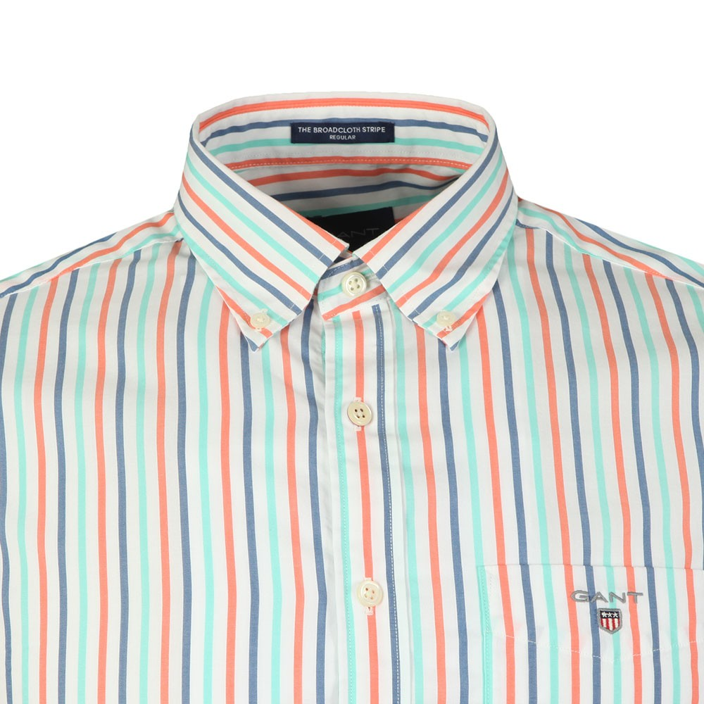 3 Colour Stripe SS Shirt main image