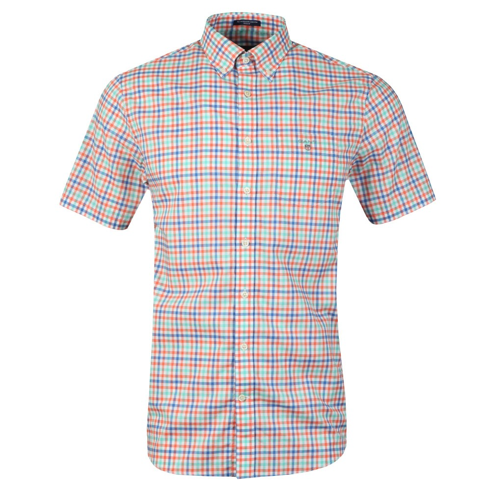 3 Colour Gingham SS Shirt main image