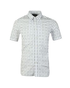 Diesel Mens White Akura Shirt
