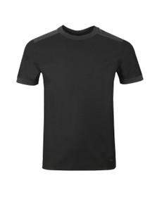 BOSS Mens Grey Casual Tahoma T Shirt