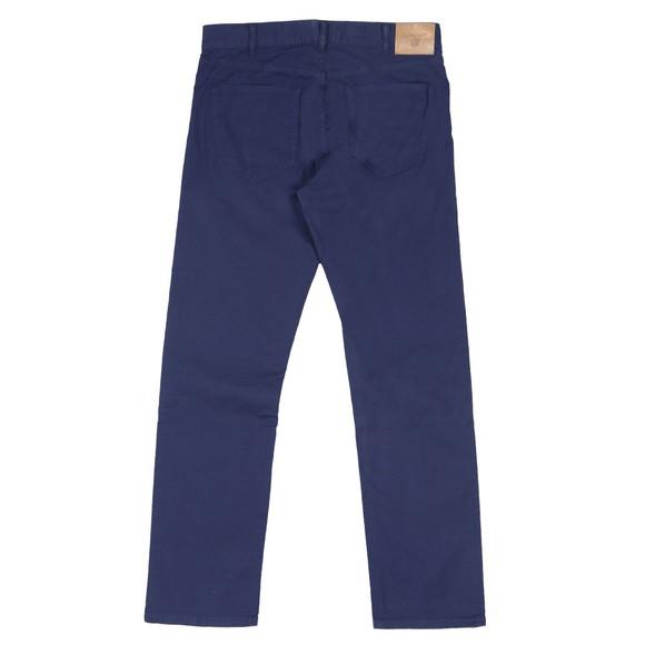 Gant Mens Blue Regular Straight Linen Jean main image