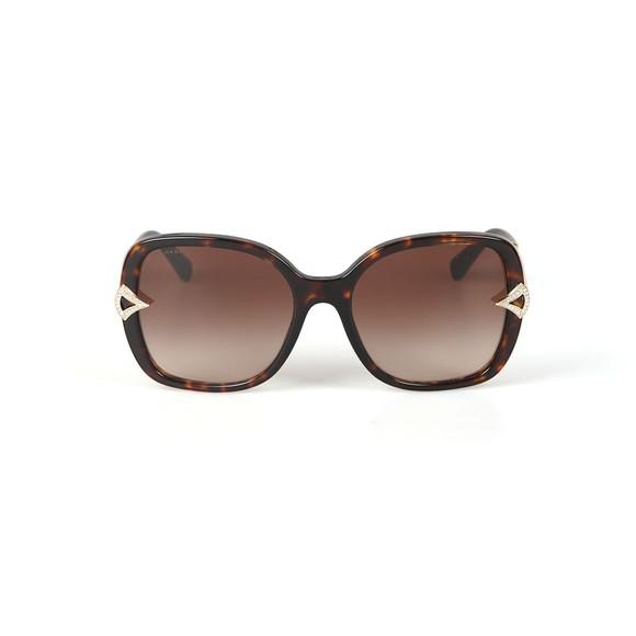 Bvlgari Womens Brown BV8217 Sunglasses main image