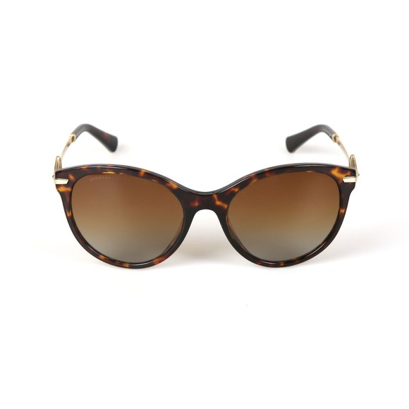 Bvlgari Womens Brown BV8210 Sunglasses