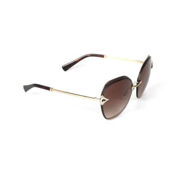 Bvlgari Womens Brown BV6111 Sunglasses main image