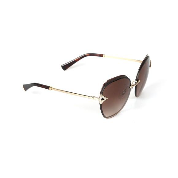 Bvlgari Womens Brown BV6111 Sunglasses