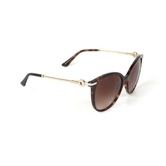 Bvlgari Womens Brown BV8201 Sunglasses