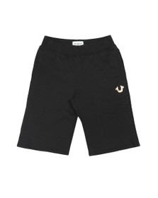 True Religion Boys Black Boys HS Jersey Short