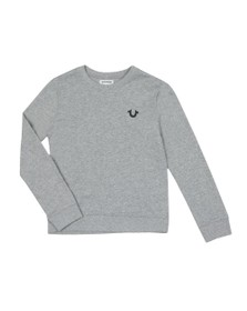 True Religion Boys Grey Buddha Pullover Sweatshirt