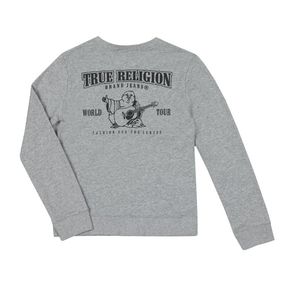 True Religion Boys Grey Buddha Pullover Sweatshirt main image
