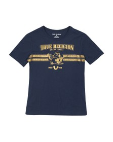 True Religion Boys Blue Buddha T Shirt