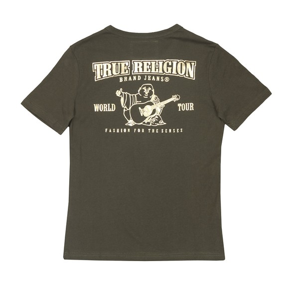 True Religion Boys Green Classic Buddha T Shirt