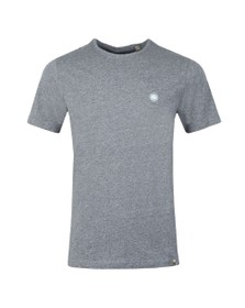 Pretty Green Mens Blue Marl Tee