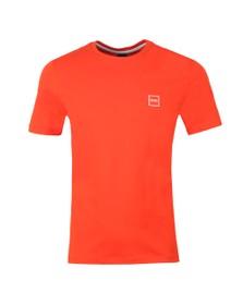 BOSS Mens Orange Casual Tales T Shirt