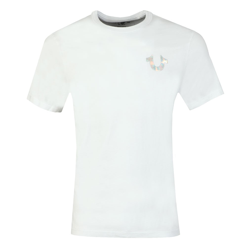 Holographic Silver Puff T Shirt main image
