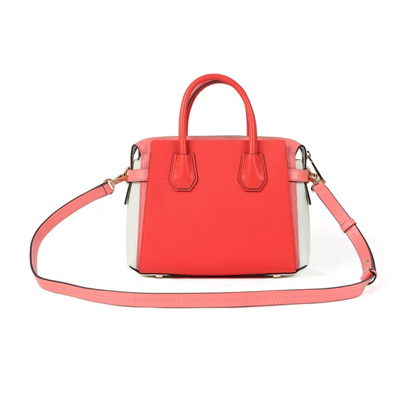 Michael Kors Womens Red Mercer Belted Satchel  main image