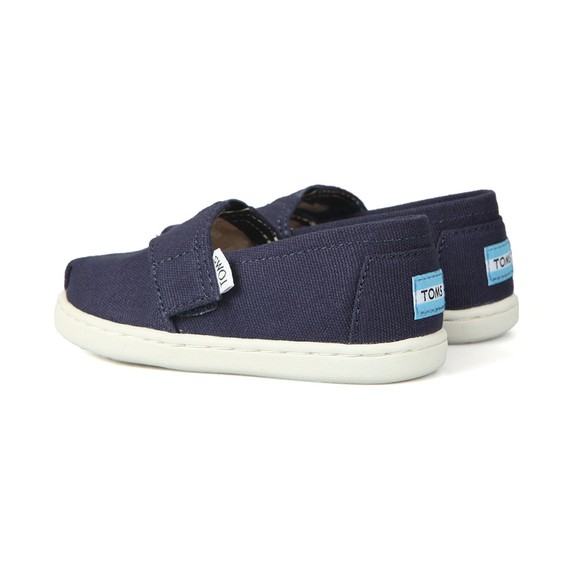 Toms Boys Blue Classic Navy Canvas main image