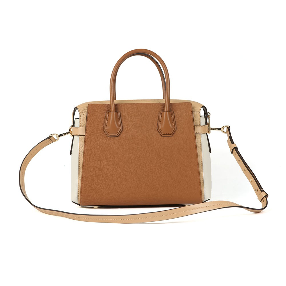 Mercer Pebbled Leather Satchel main image