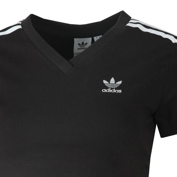 adidas Originals Womens Black Cropped T Shirt main image