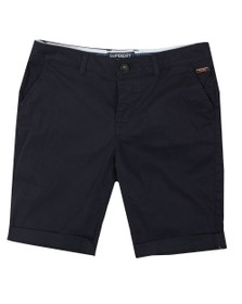 Superdry Womens Blue Chino City Short