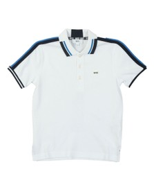 BOSS Boys White Boys J25D47 Polo Shirt