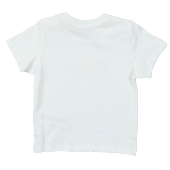 BOSS Baby Boys White Logo T Shirt main image