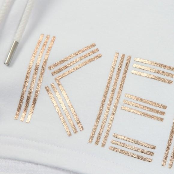 Kenzo Kids Girls White Logo Jersey Short