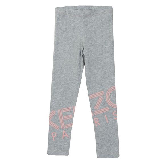Kenzo Kids Girls Grey Logo Legging