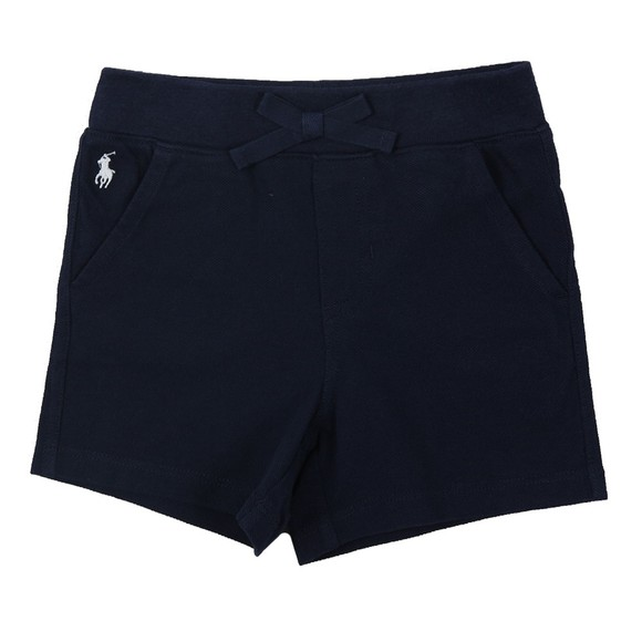 Polo Ralph Lauren Boys Blue Baby Jersey Short main image