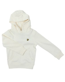 Lyle And Scott Junior Boys White Classic Overhead Hoody