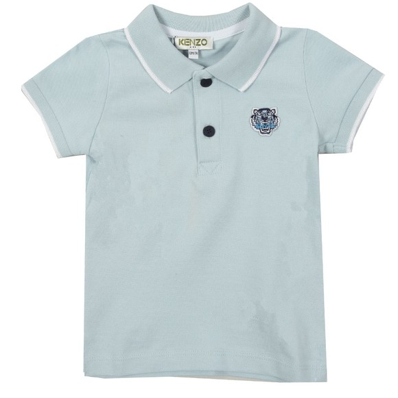 Kenzo Baby Boys Blue Tipped Polo Shirt