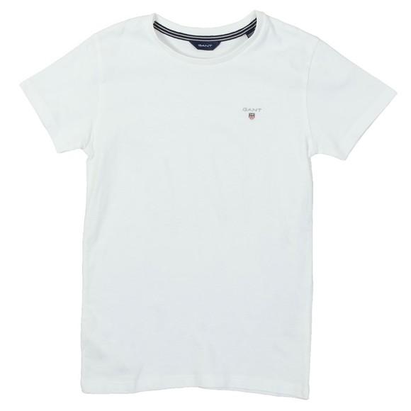 Gant Boys White Boys Original T-Shirt