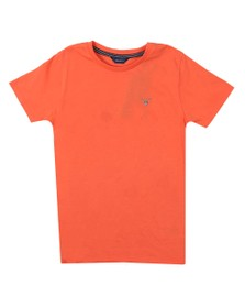 Gant Boys Orange Boys Original T Shirt
