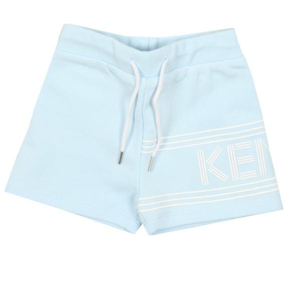 Kenzo Baby Boys Blue Logo Sweat Short main image