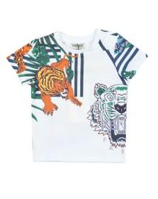 Kenzo Baby Boys White Faron Hawai Kenzo T Shirt